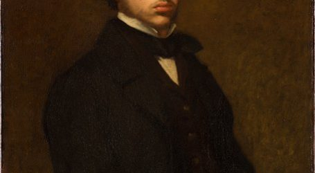 Un rostro escondido en uno de los cuadros de Degás