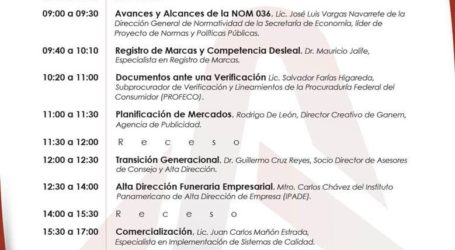 """COMESEF convoca al seminario """"Alta Dirección Funeraria"""""""