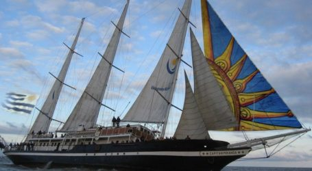 Buque Cuauhtémoc brindará espectáculo en el Uruguay