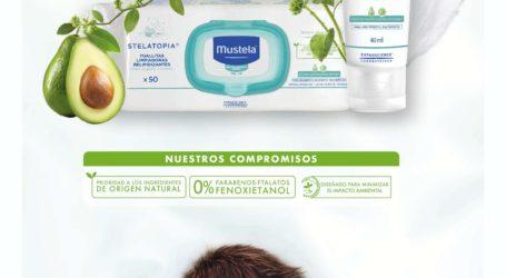 MUSTELA, la marca líder en dermopediatría, lanza al mercado su nueva Crema Facial Emoliente Stelatopia para pieles atópicas