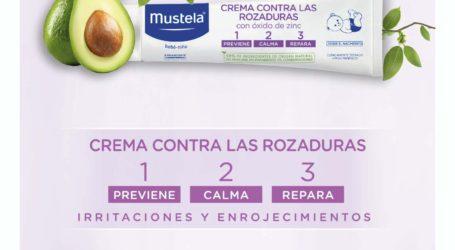 Mustela, la marca líder en dermopediatría, lanza la nueva  imagen de su Crema contra las Rozaduras 1.2.3
