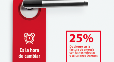 Hasta 45% de ahorro energético en sector hotelero con tecnología Danfoss