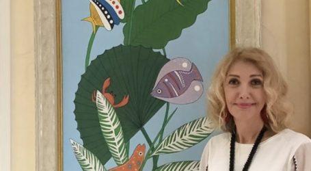 La condesa Luciana Cacciaguerra presenta su obra en Tocororo Investmenst en República Dominicana