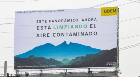 Alumnos de la UDEM crean proyectos para aliviar la contaminación en Monterrey