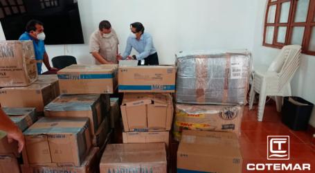 Cotemar dona materiales e insumos médicos para el combate del COVID-19 en Ciudad del Carmen