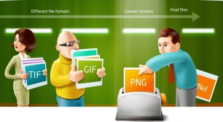 Software reaConverter permite conversión de numerosos formatos de imagen