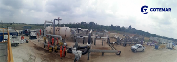 Cotemar concluye Programa de Interconexión de Tanque y Cabezales de los Pozos Quesqui y Tecominoacán